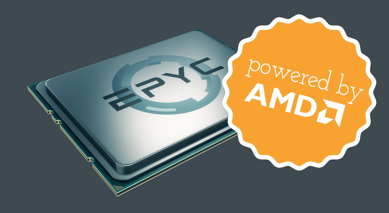 Powered by AMD