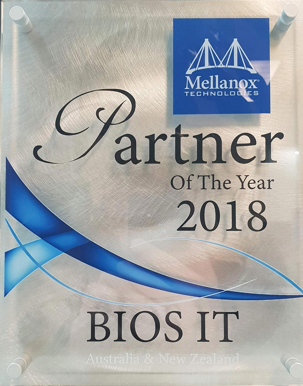 mellanox partner of the year award